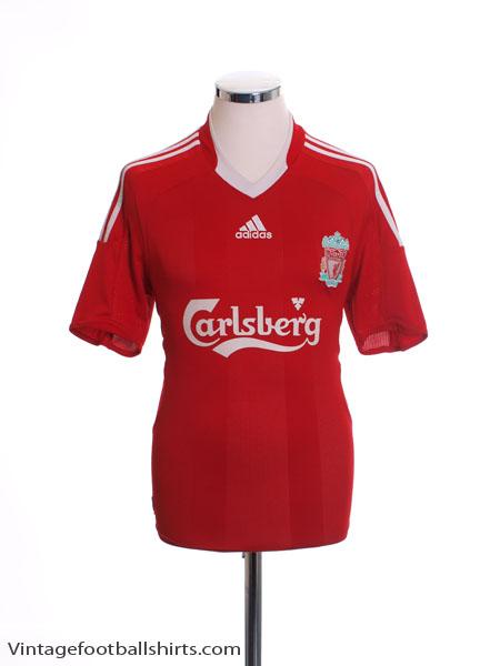 2008-10 Liverpool Home Shirt M