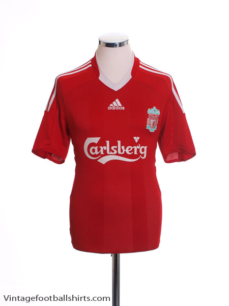 2008-10 Liverpool Home Shirt S
