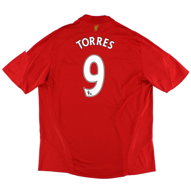 2008-10 Liverpool Home Shirt Torres #9 XXL - 313214