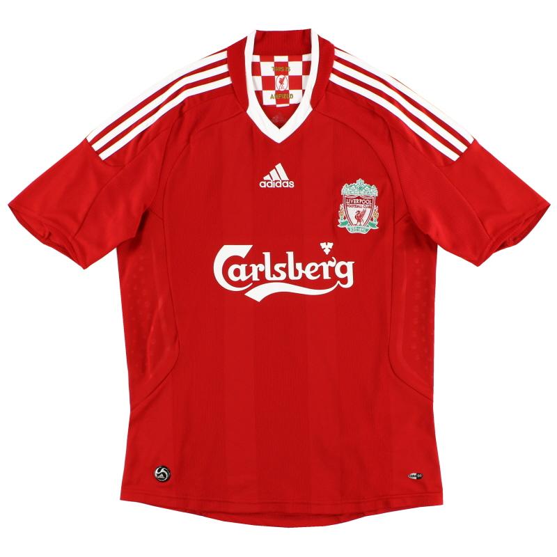 2008-10 Liverpool adidas Home Shirt S - 313214