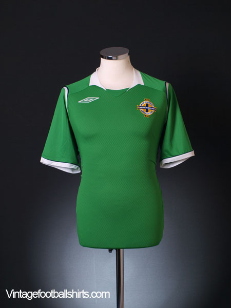 2008-10 Northern Ireland Home Shirt L