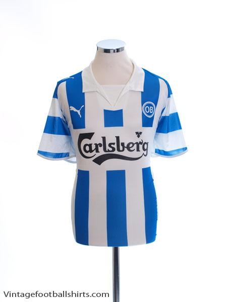 2008-10 Odense BK Home Shirt XL - 735559