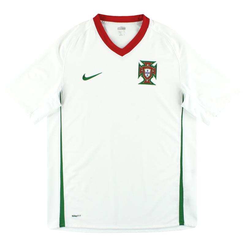 2008-10 Portugal Nike Away Shirt L - 259181-105
