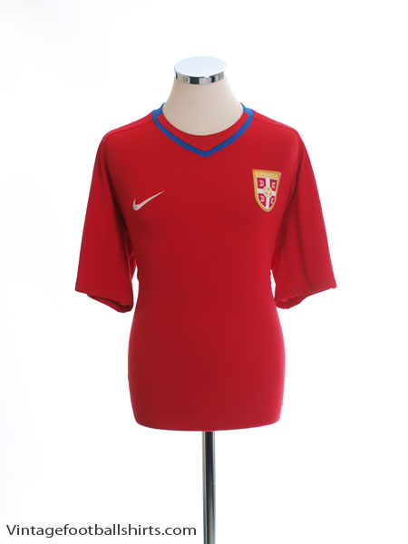 2008-10 Serbia Home Shirt XL - 265416-614