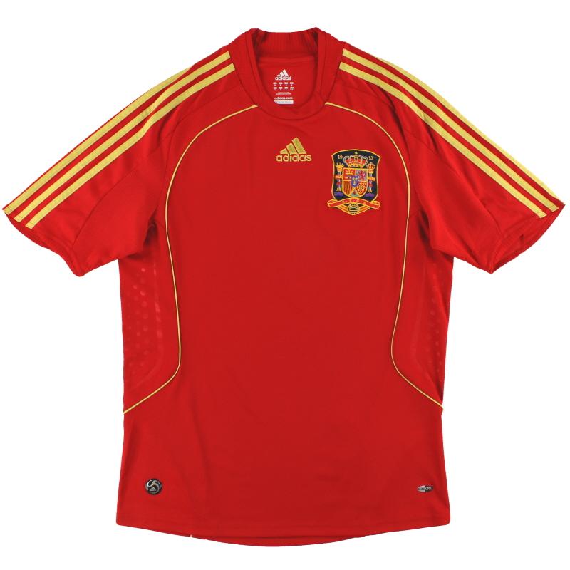 2008-10 Spain adidas Home Shirt XL.Boys