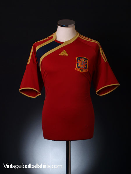 2009 Spain Confederations Cup Home Shirt M