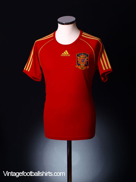 2008-10 Spain Home Shirt *BNWT* XL