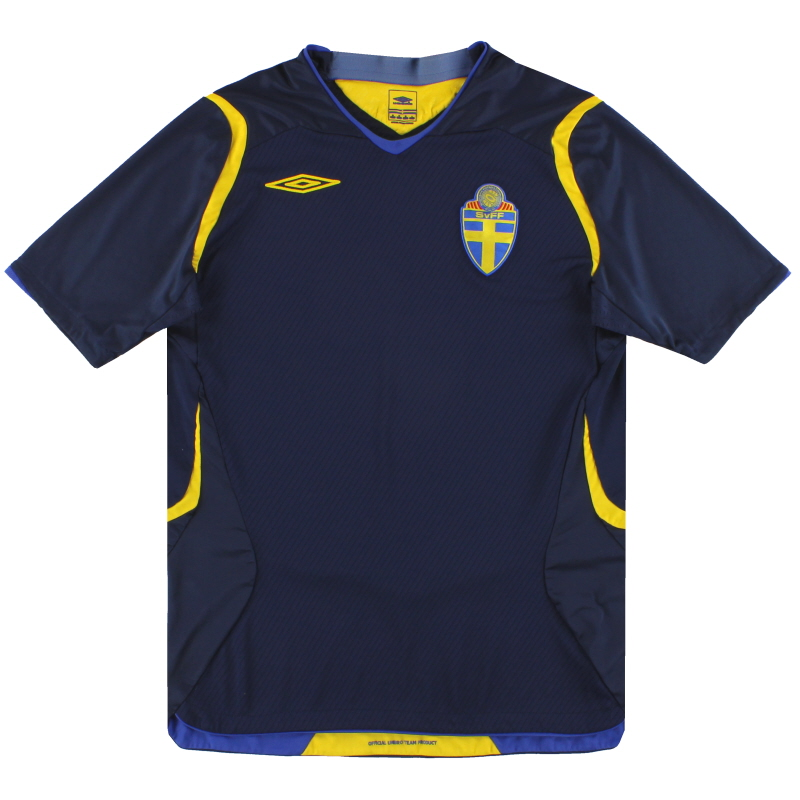 2008-10 Sweden Umbro Away Shirt M