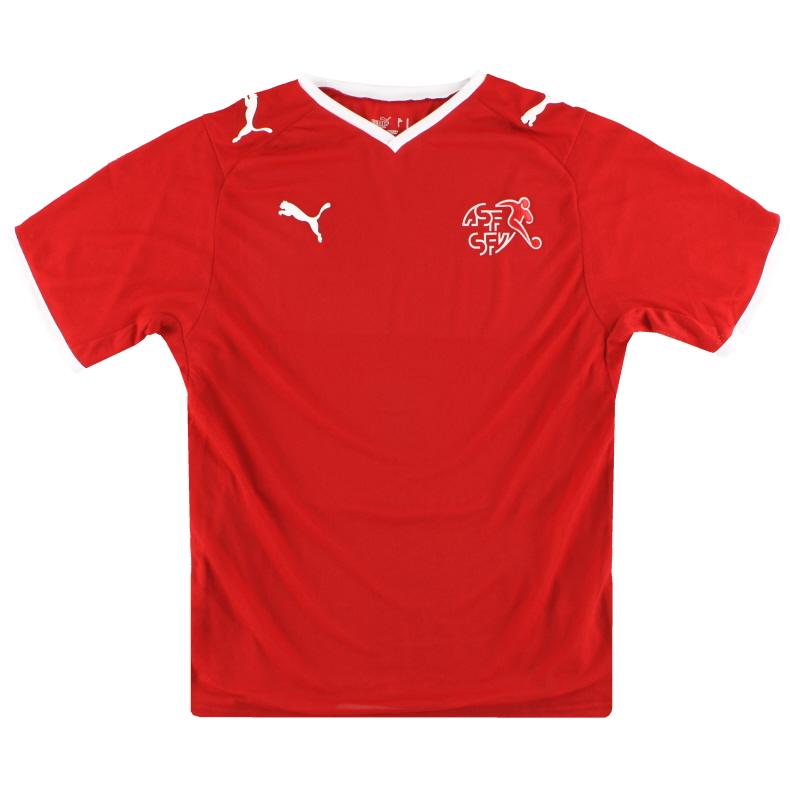 2008-10 Switzerland Puma Home Shirt S - 734238