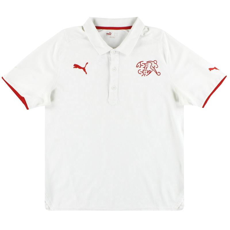 2008-10 Switzerland Puma Polo Shirt XL