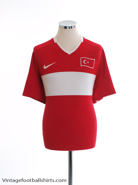 2008-10 Turkey Home Shirt L