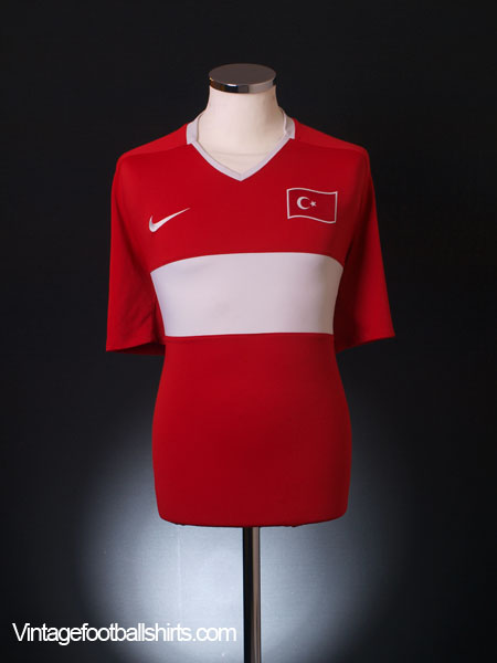 2008-10 Turkey Home Shirt XXL