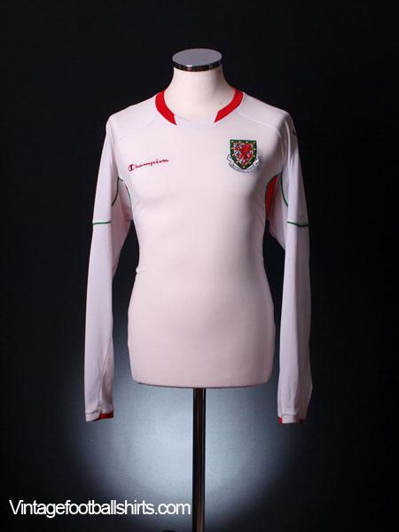 2008-10 Wales Away Shirt *BNWT* L/S L