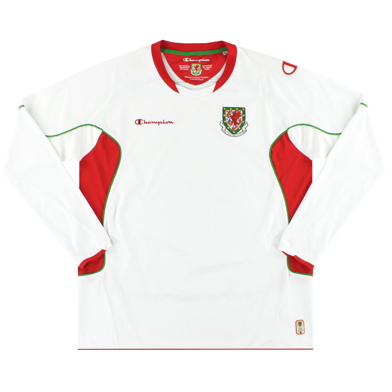 2008-10 Wales Champion Away Shirt L/S *Mint* XXL