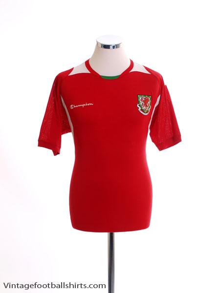 2008-10 Wales Home Shirt L