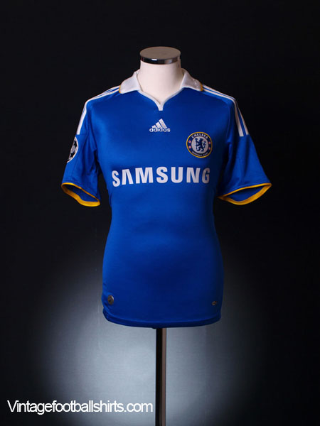 2008 Chelsea 'Carling Cup Final' Home Shirt XXL - 656133