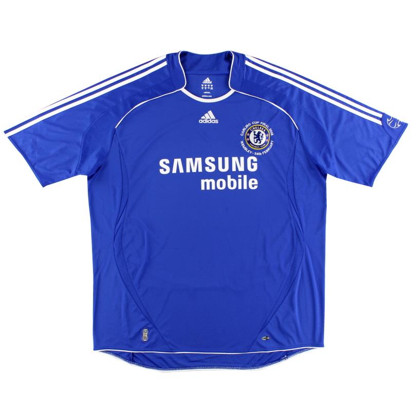 2008 Chelsea 'Carling Cup Final' Home Shirt *Mint* XXXL - 061230