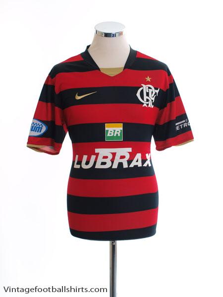 2008 Flamengo Home Shirt #10 M