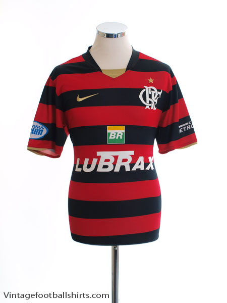 2008 Flamengo Home Shirt *Mint* L - 268277-660