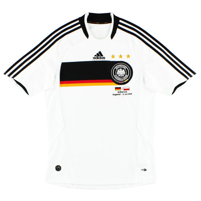 2008 Germany 'v Poland' Home Shirt S
