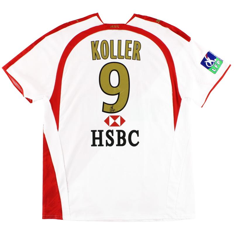2008 Monaco Puma Player Issue Home Shirt Koller #9 XXL - 732425
