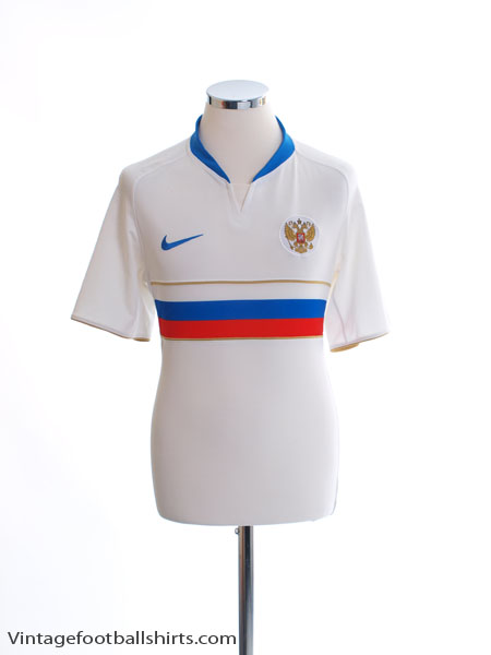 2008 Russia Home Shirt M