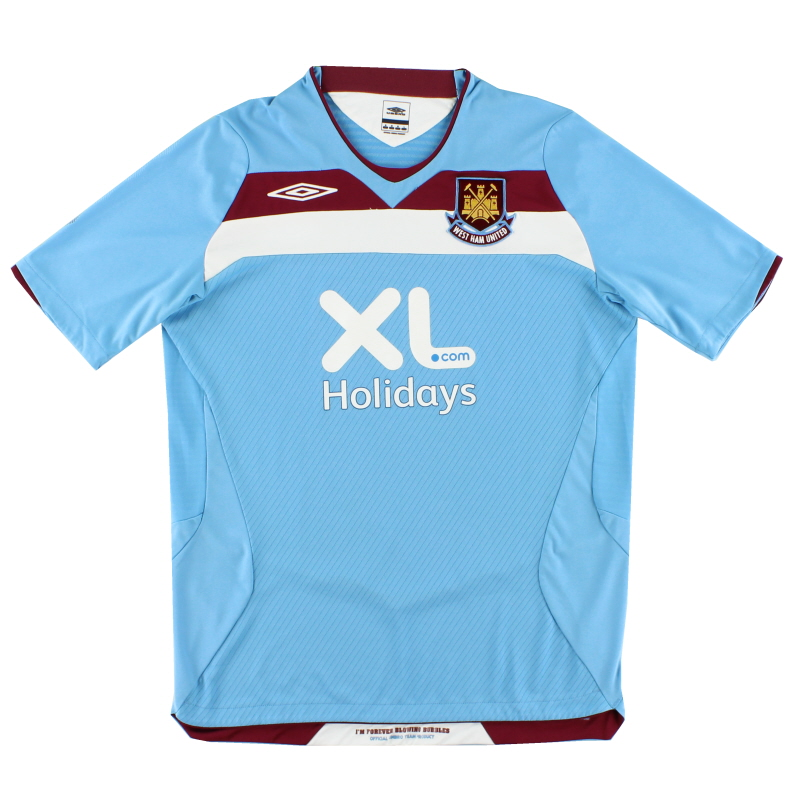 2008 West Ham Umbro Away Shirt M - 34473378