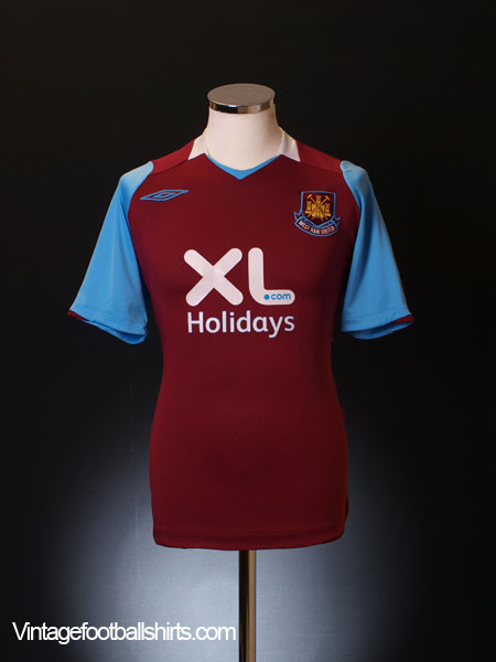 2008 West Ham Home Shirt *Mint* M