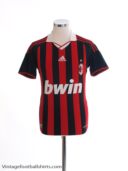 2009-10 AC Milan Home Shirt L - E84210