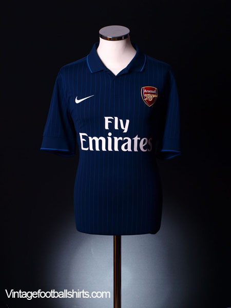 2009-10 Arsenal Away Shirt S