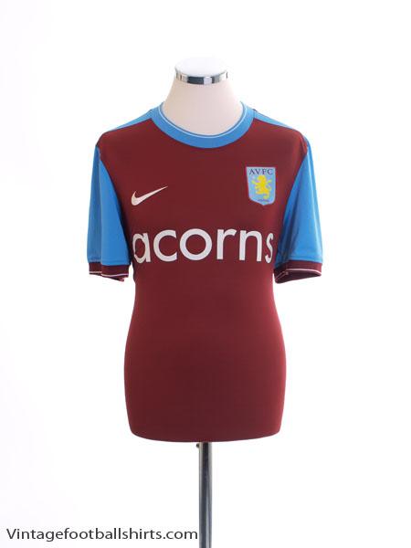 2009-10 Aston Villa Home Shirt M