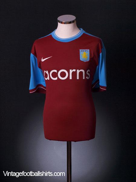 2009-10 Aston Villa Player Spec Home Shirt *BNWT* XXL