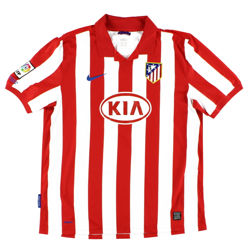 2009-10 Atletico Madrid Home Shirt XL