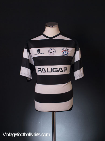 2009-10 Ayr United 'Limited Edition' Home Shirt M