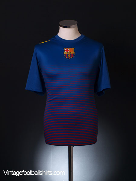 2009-10 Barcelona Training Shirt L