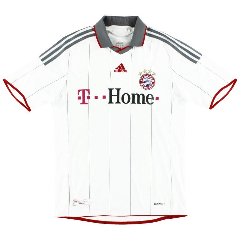 2009-10 Bayern Munich adidas European Shirt *Mint* L