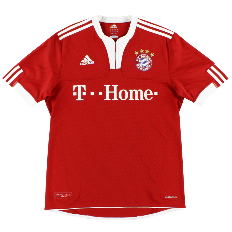 2009-10 Bayern Munich adidas Home Shirt L - E84214