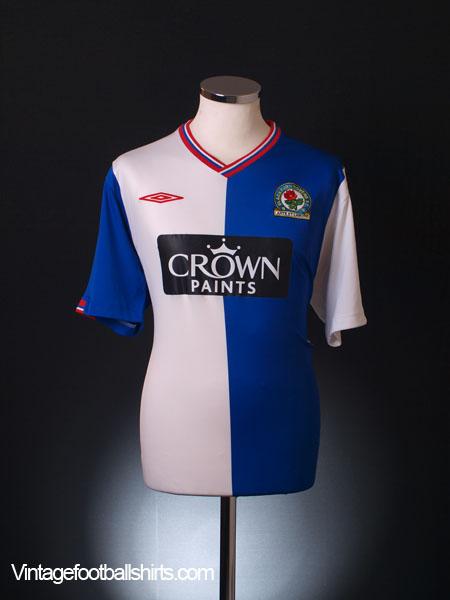 2009 10 blackburn home shirt xl for sale for Blackburn home