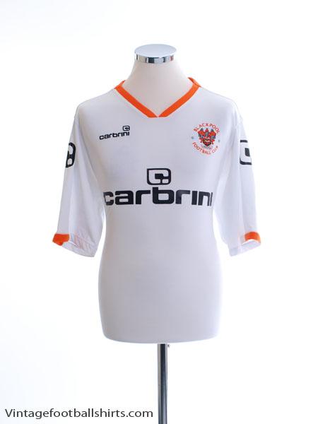 2009-10 Blackpool Away Shirt L