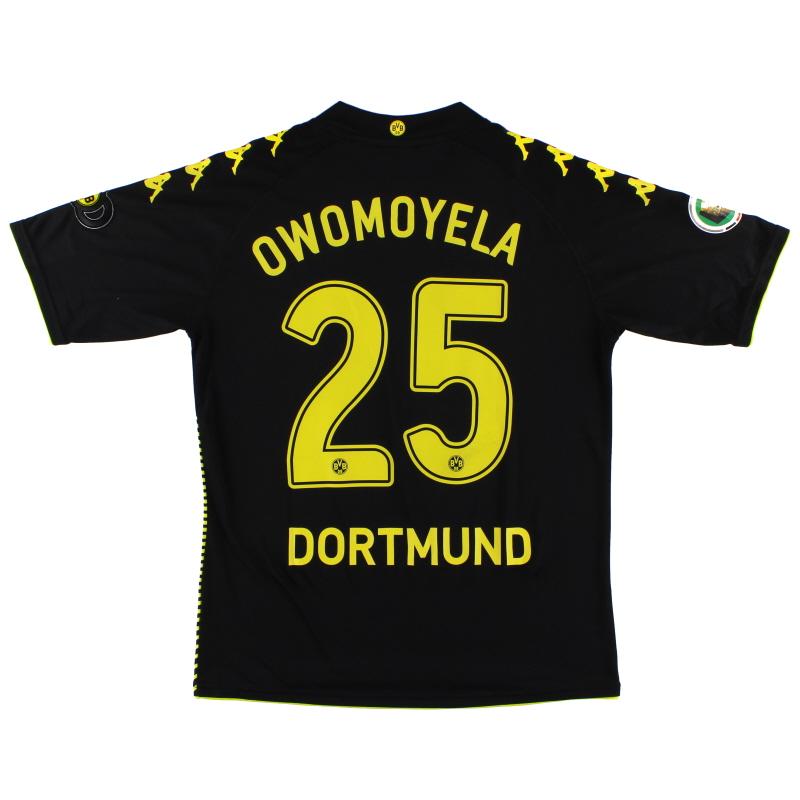 2009-10 Borussia Dortmund Away Shirt Owomoyela #25 XL