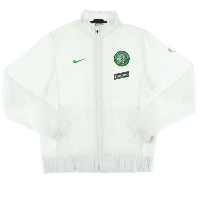 2009-10 Celtic Nike Woven Warm-Up Jacket L - 347325-100