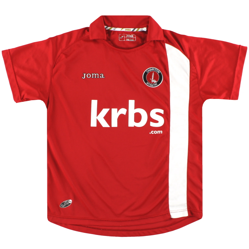 2009-10 Charlton Joma Home Shirt S