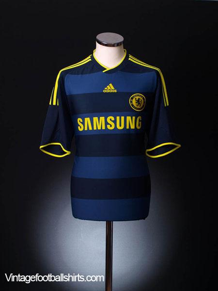 2009-10 Chelsea Away Shirt S