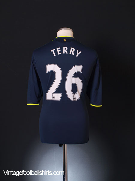 2009-10 Chelsea Away Shirt Terry #26 XL