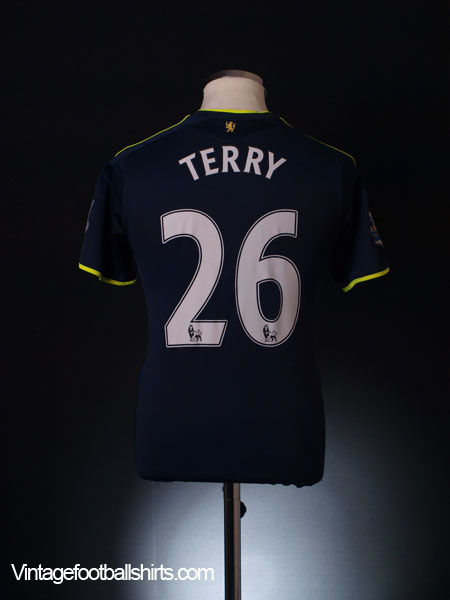 2009-10 Chelsea Away Shirt Terry #26 XL.Boys