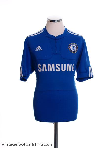 2009-10 Chelsea Home Shirt XL - E84291
