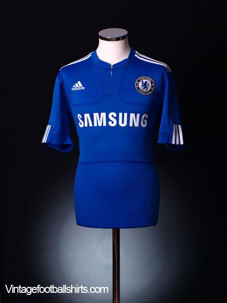 2009-10 Chelsea Home Shirt L.Boys