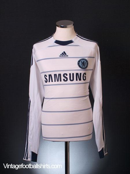 2009-10 Chelsea Third Shirt L/S L