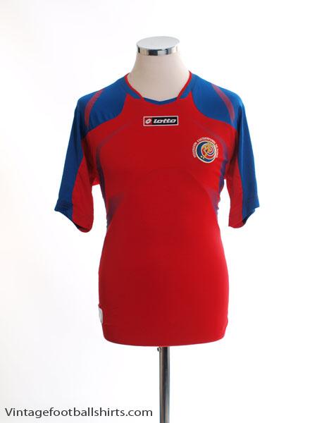 2009-10 Costa Rica Home Shirt S