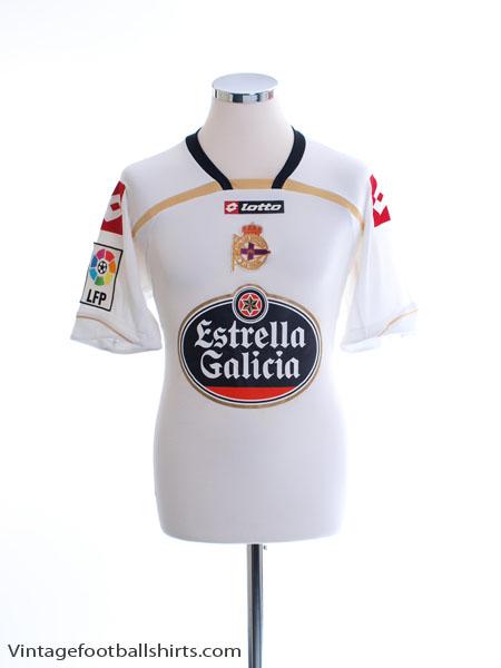 2009-10 Deportivo Third Shirt M
